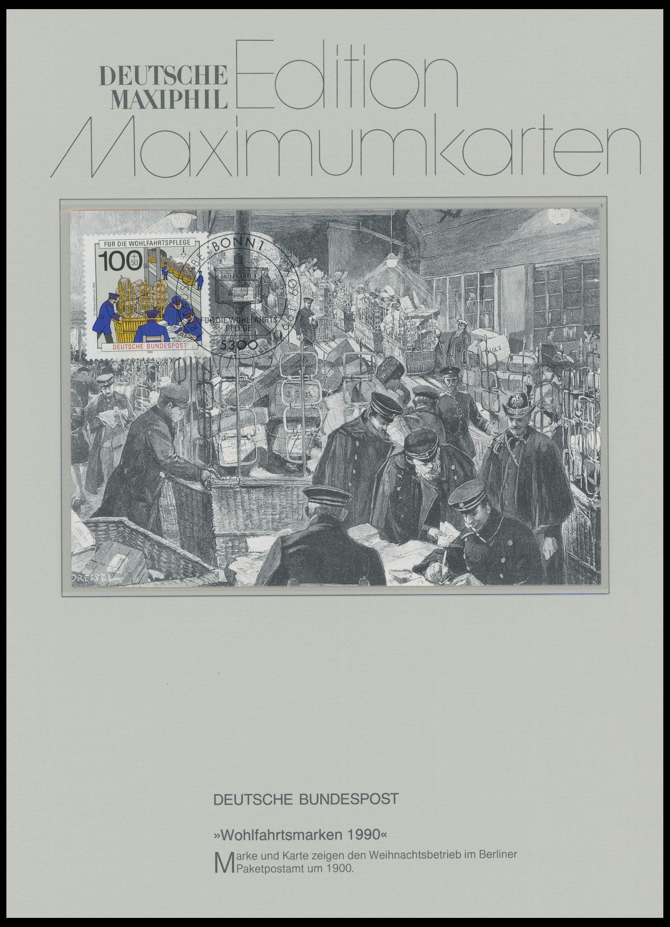 slg., lots deutschland 1990/2, 68 verschiedene